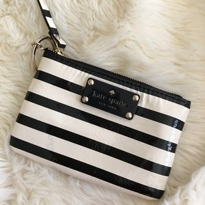 Authentic Kate Spade Striped Card/Key Holder